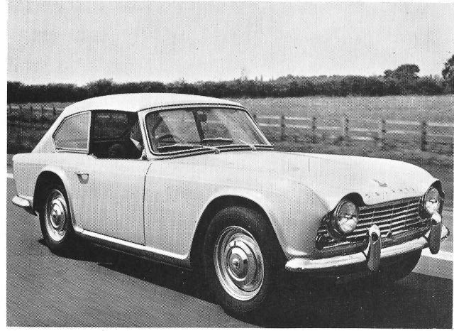 Triumph Dove GTR4 Grand Touring Coupe (1961-1964)