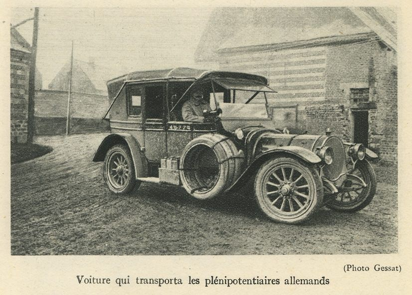 Et si la fin de la Grande Guerre avait été sonnée d'une automobile !