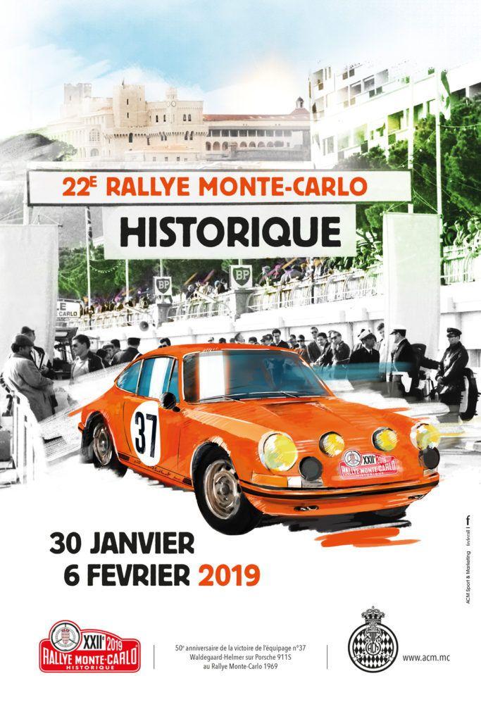 De 39 à 64 ans – départ de la 22 ème édition du RALLYE MONTE CARLO HISTORIQUE le 30 janvier 2019