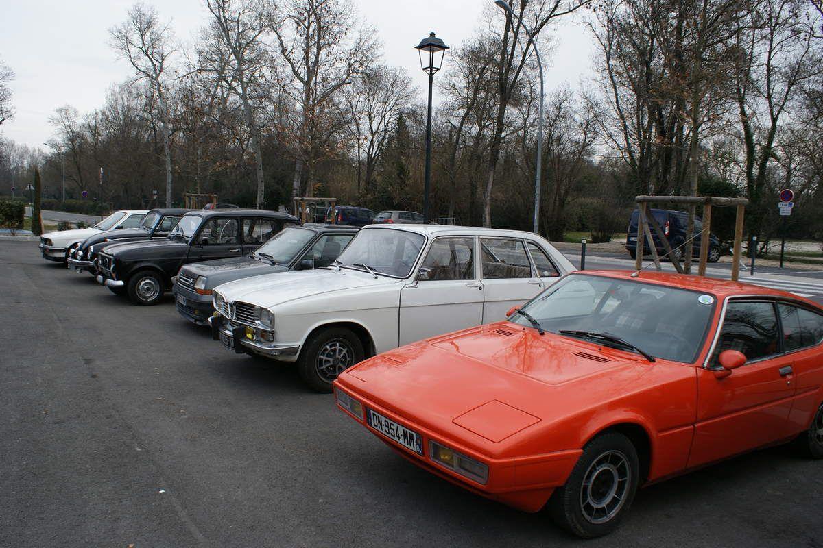Dans la série, rien ne sert de courir, il faut partir à point - Les traditionnelles réunions mensuelles d'autos anciennes du GARD