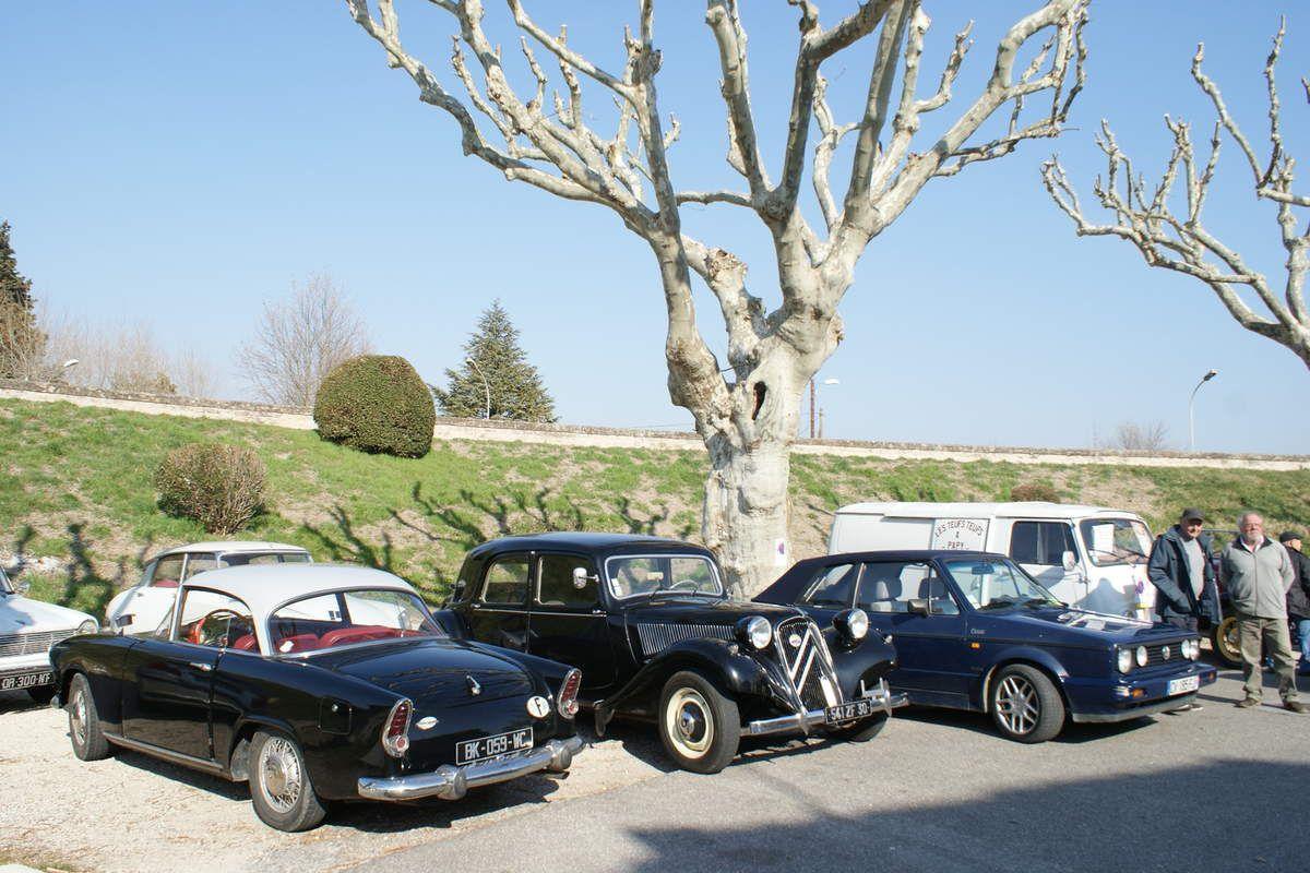 Dimanche 17 FÉVRIER 2019 avec LES SOUPAPES AVIGNONNAISES au départ de Villeneuve lez Avignon