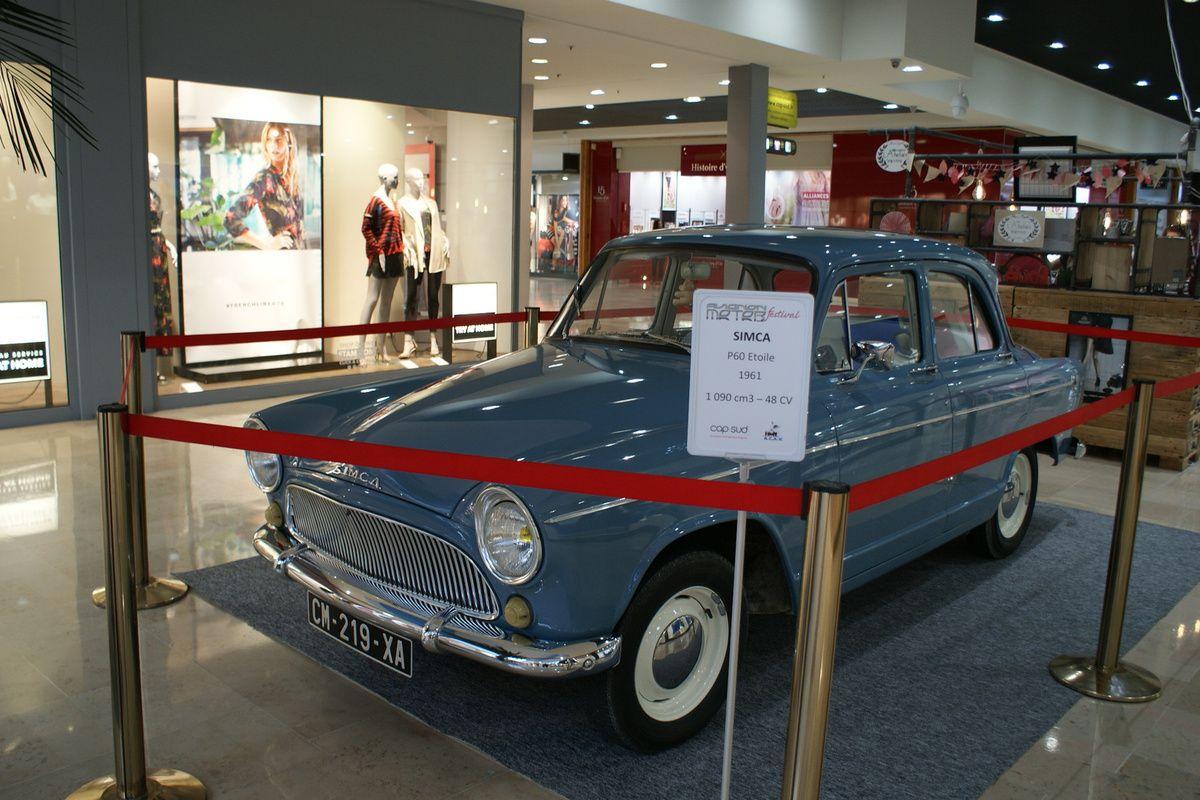 4 au 9 MARS 2019 des voitures anciennes  « UN SIÈCLE DE LOCOMOTION » à CAP SUD Le Centre Commercial d'Avignon
