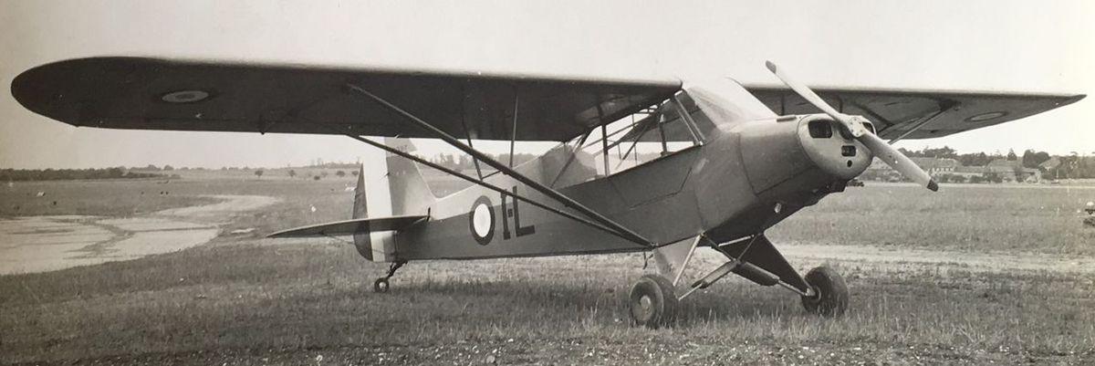 Le PIPER J3 du Club de l'Aérodrome Vauclusien Toujours en activité, il décollera prochainement pour participer aux commémorations du D-Day en Normandie