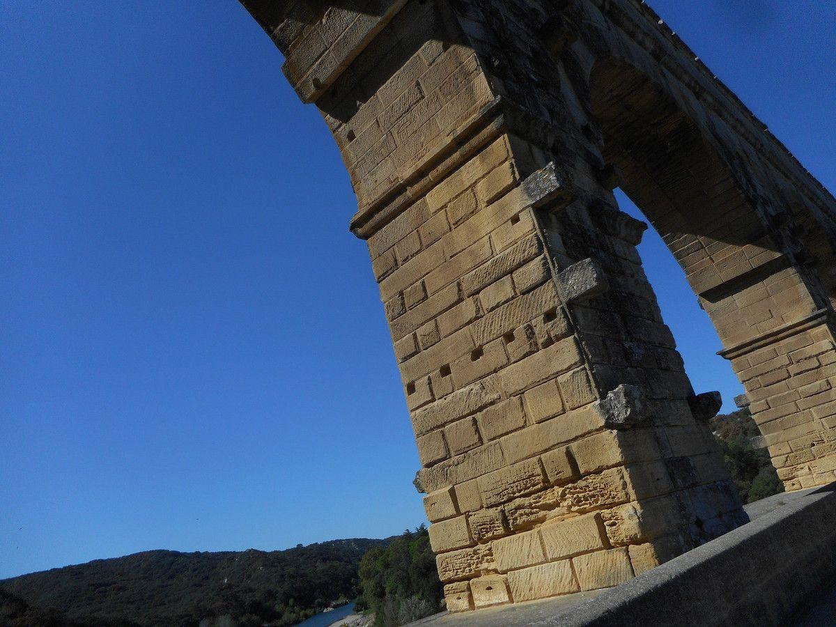 le Pont du Gard et le Pont Pitot
