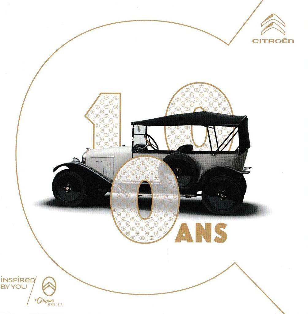 CÉLÉBRATION CENTENAIRE CITROËN  les 19 – 20 – 21 JUILLET 2019 à La Ferté-Vidame (Eure & Loir)