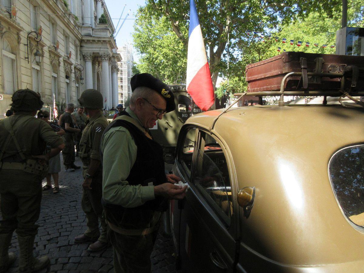 Le souvenir 75 ans après 25 août 2019 LIBERATION D'AVIGNON