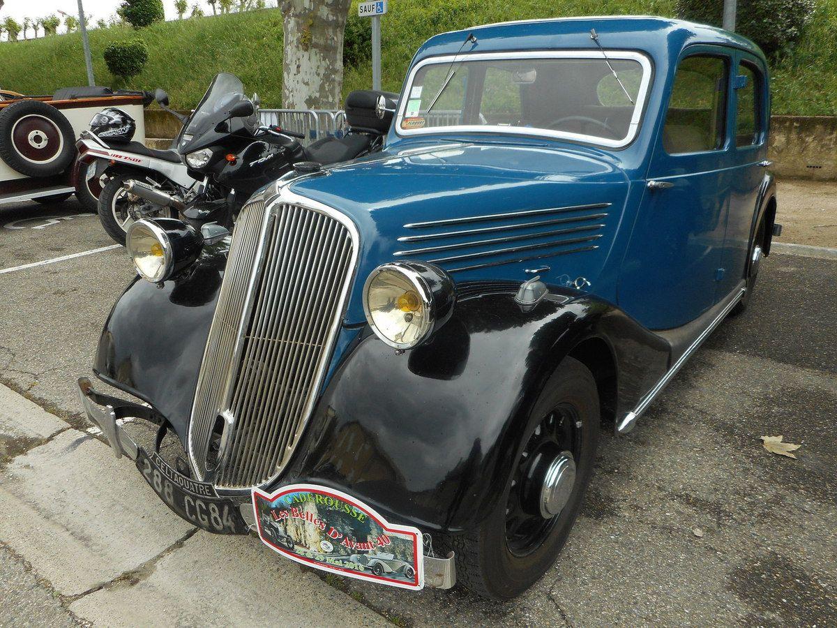 Dimanche 29 SEPTEMBRE 2019 voitures anciennes à Caderousse (Vaucluse)