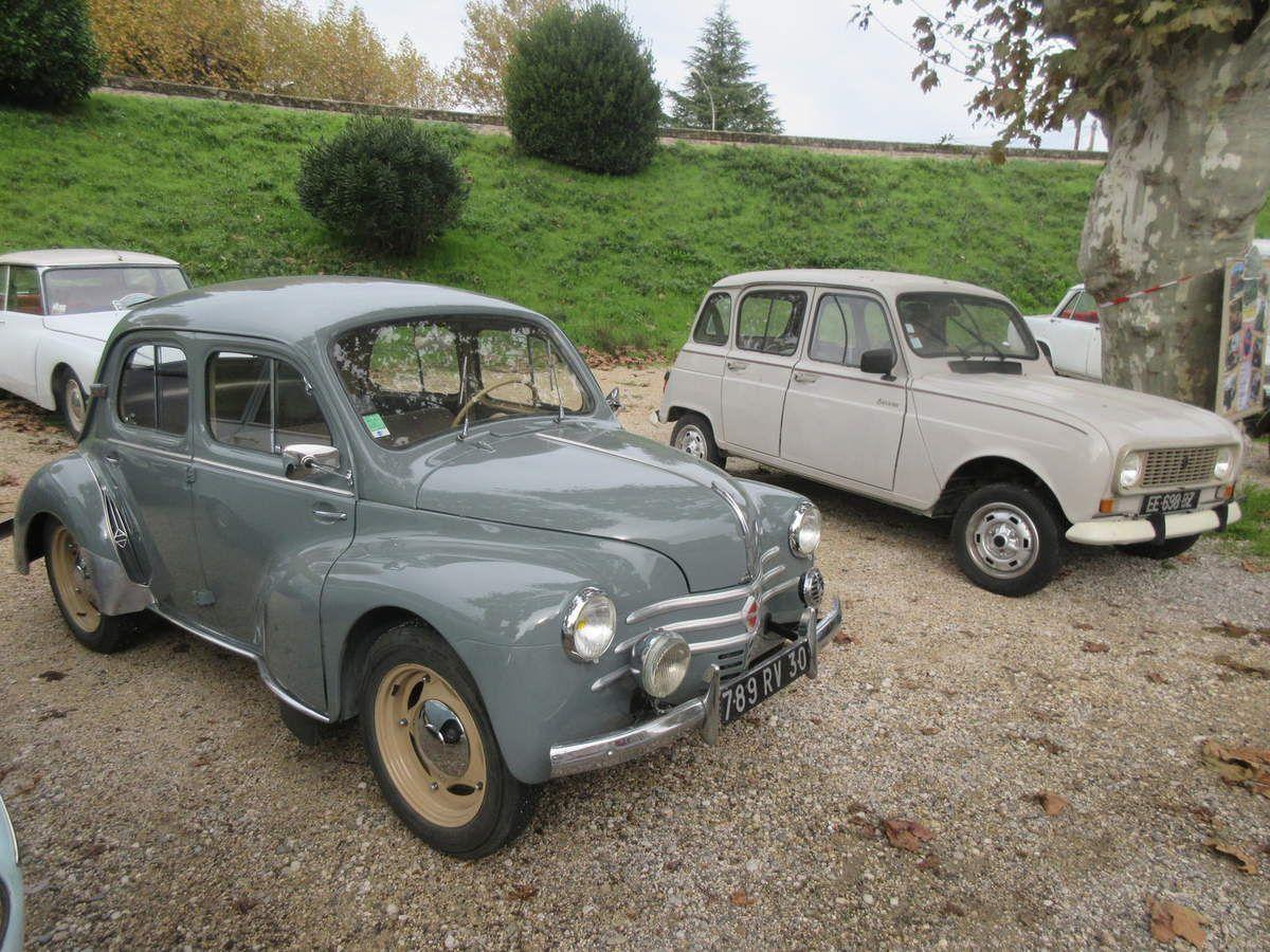 Dimanche 10 NOVEMBRE 2019, 2ème dimanche du mois dans le Vaucluse, à Caderousse plus exactement, la réunion mensuelle des autos anciennes