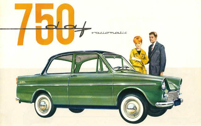DAF, une marque dont les autos en forme et qui se déplacent encore sur nos routes sont plutôt rares.