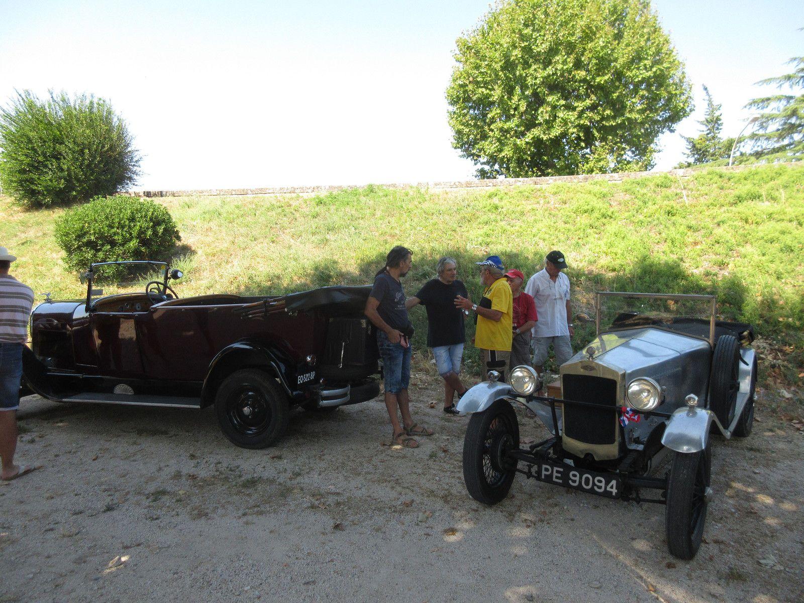 Réunion estivale à Caderousse (Vaucluse) c'était dimanche  9 AOÛT 2020