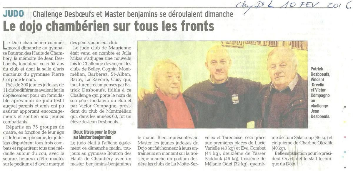 Article DL du 10 02 2016