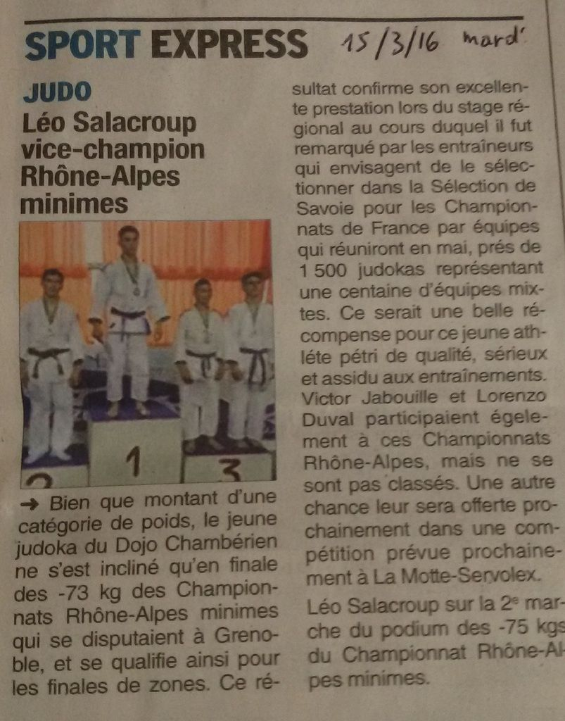 Article DL du 15 mars 2016