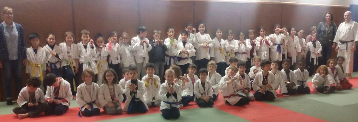 Cycle judo de l'école St Joseph