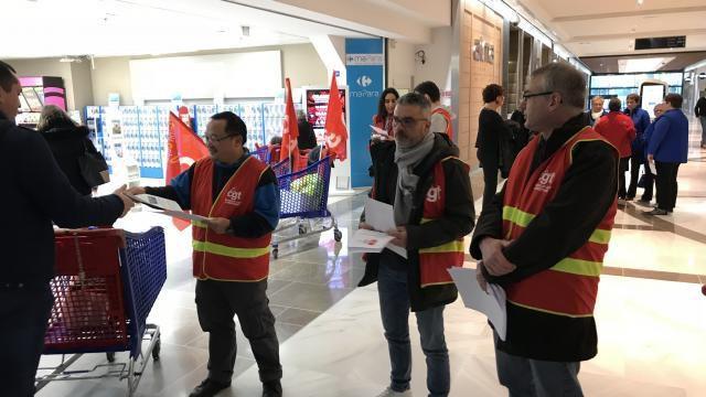 Rennes. Les salariés de Carrefour Alma en grève contre le plan Bompard