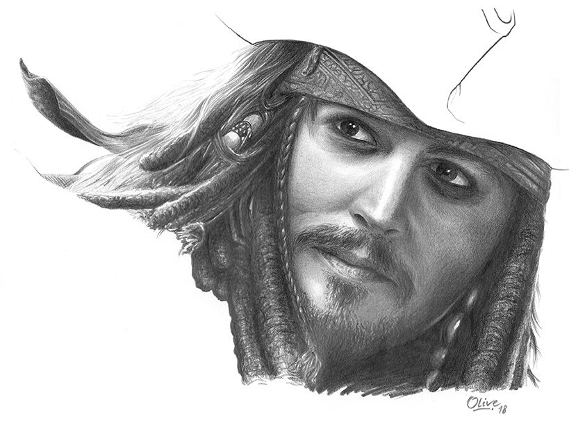 Jack Sparrow by Nolive