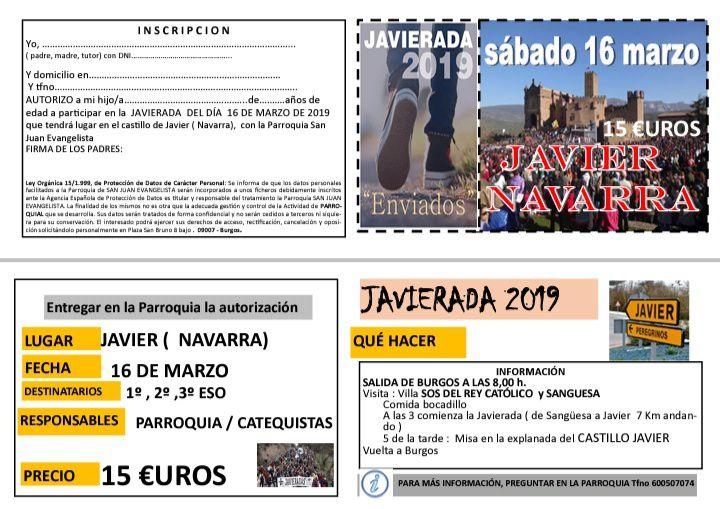 Javierada 2019