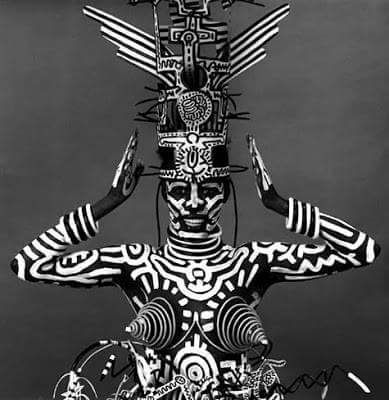 Grace Jones by Keith Haring
