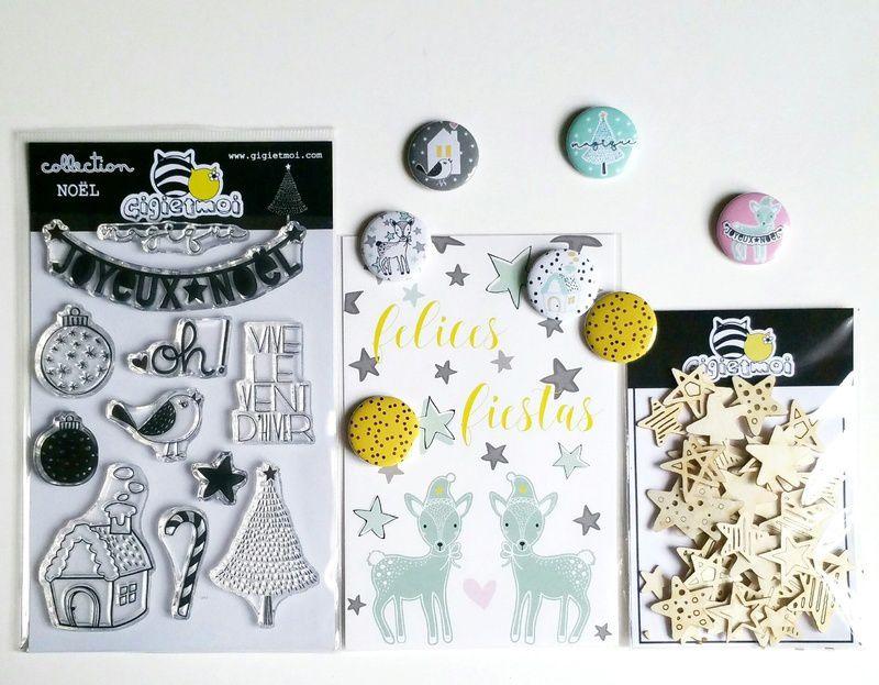 Collaboration with Gigi Et Moi: Guest Designer December 2016