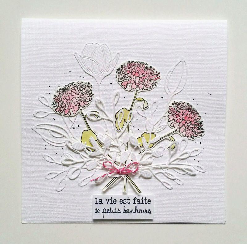 Carte 'La Vie Est Faite De Petits Bonheurs'