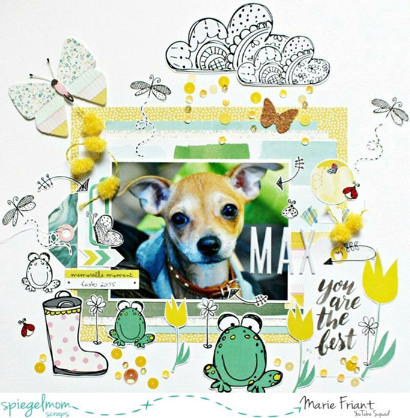 Spiegelmom Scraps 'Get To Know Your Sparklers' May 1st Blog Hop