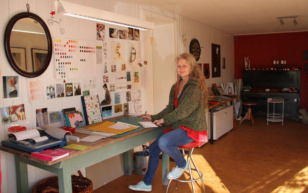 Neun Veitshöchheimer Künstler/innen gaben Einblicke in ihre Ateliers
