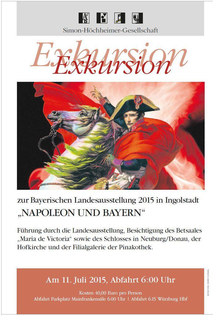 SHG Veitshöchheim lädt ein zur Fahrt zur Napoleon-Landesausstellung nach Ingolstadt