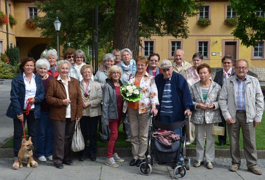 Dankes-Feier des ApK-Selbsthilfevereins für Veitshöchheimerin  Elisabeth Selinger für 21jährige Leitung
