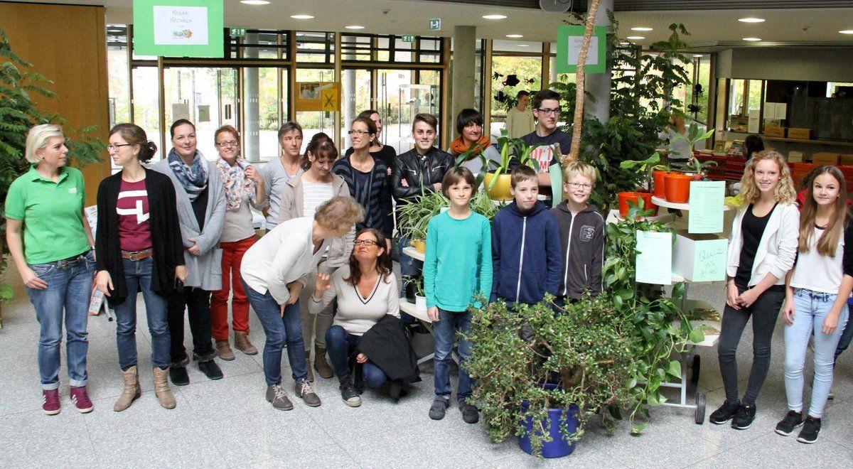 Verantwortlich für Planung und Durchführung zeichnete der Arbeitskreis Schulverpflegung mit Leiterin Margret Simmelbauer, Helga Filbig, Brigitte Korneli und Lukas Krenz.