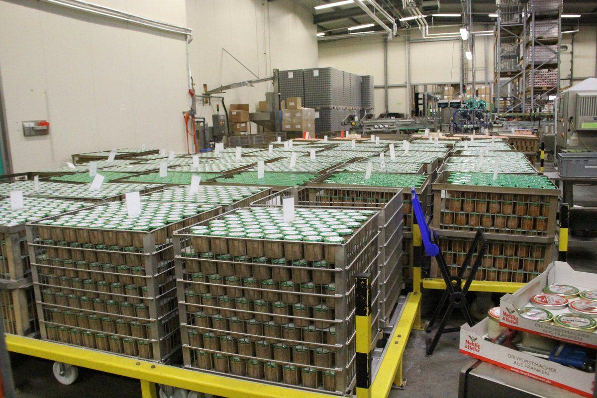 Infogang Gemeinde Teil 4: Fleischereibetrieb Mehlig & Heller produziert täglich 35.000 Wurstgläser