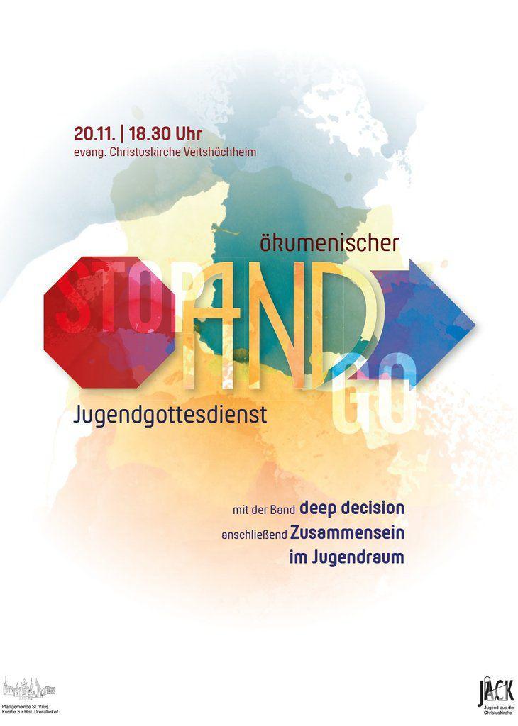 """Ökumenischer Jugendgottesdienst am 20. November in der Christuskirche mit der Band """"deep decision"""""""