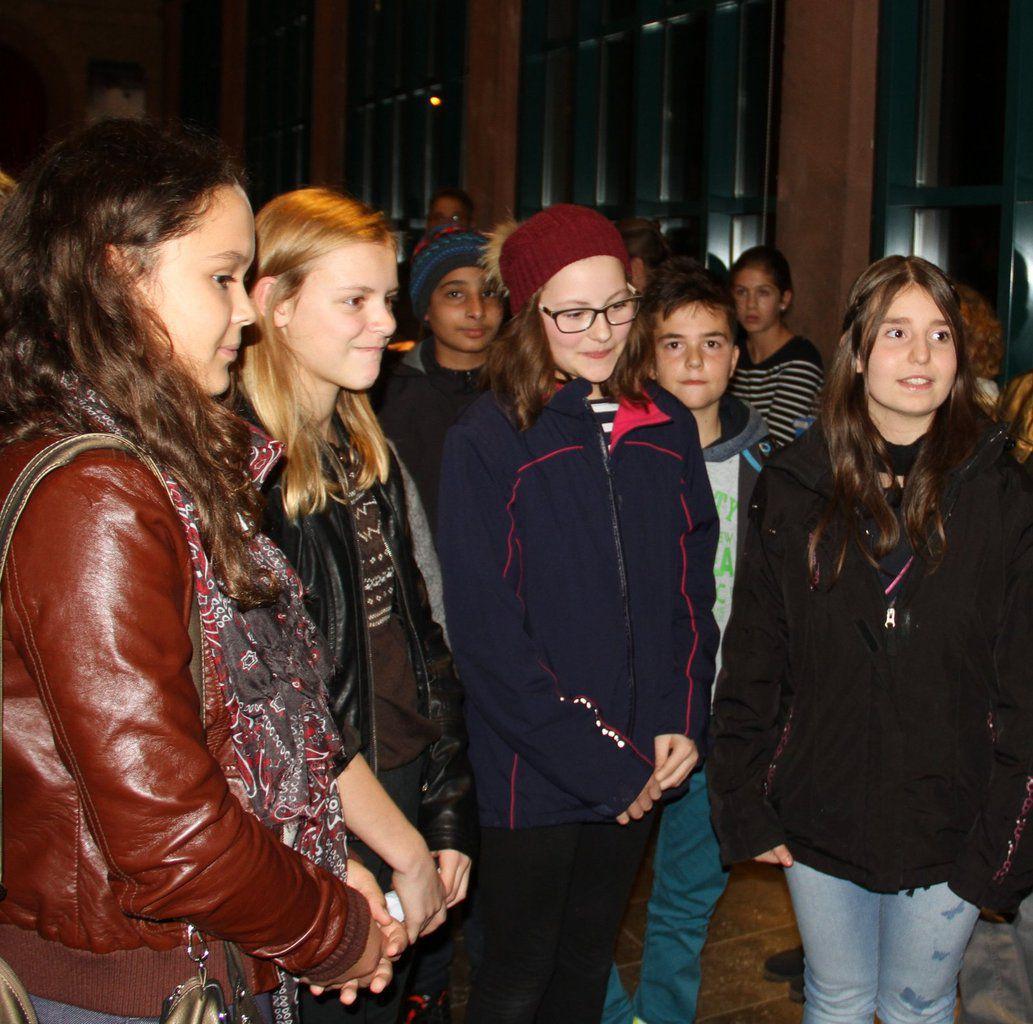 Trostpreise gab es für alle Teilnehmer, so auch für die 13 Sechstklässler aus der Mittelschule.