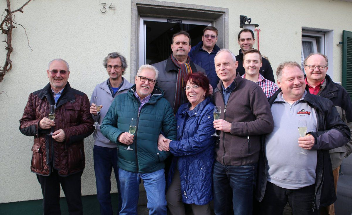 Fastnacht in Franken: Altneihauser Feierwehrkapelln logiert zum 10. Mal im Ferienhaus Wiek - Eigenes Konzert am 16. April in Veitshöchheim