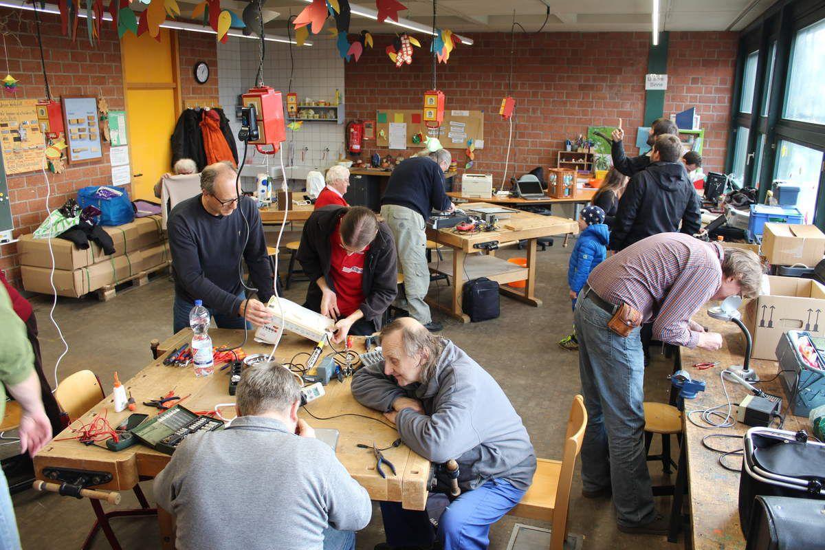 Veitshöchheimer Reparatur-Selbsthilfewerkstatt (Repair-Cafe) geht in die siebte Runde