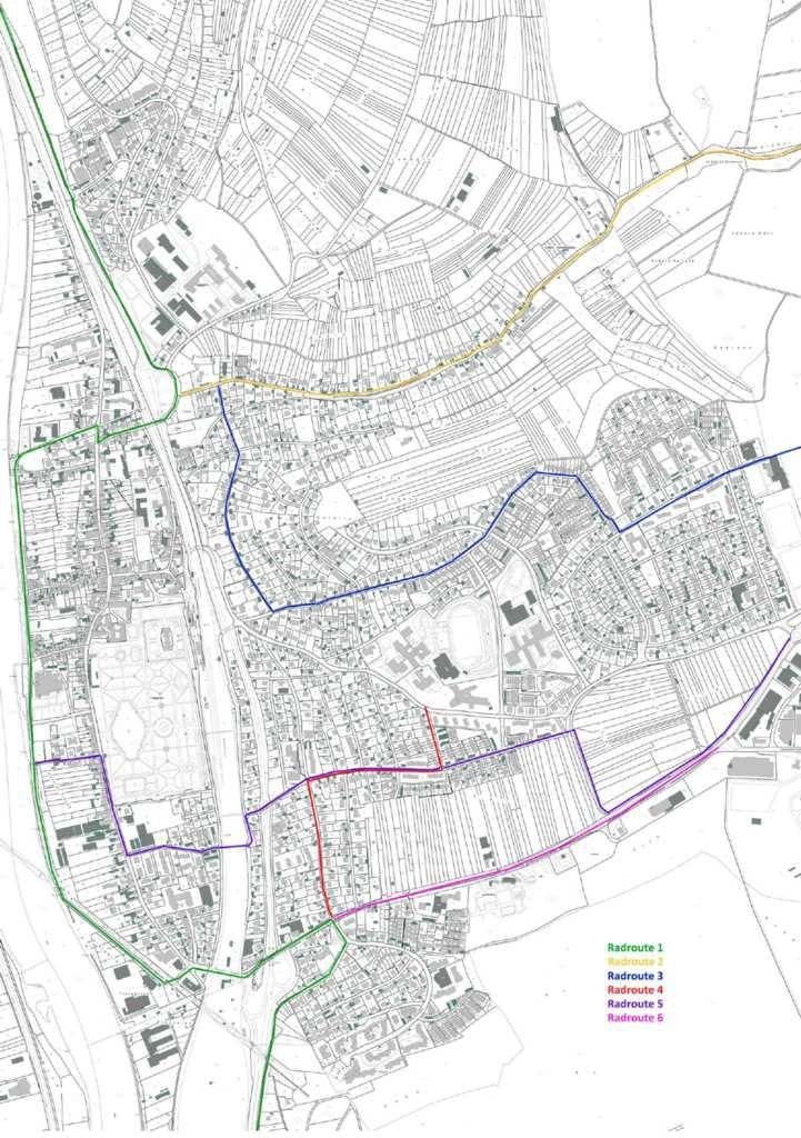 Gemeinderat verabschiedete Radroutenkonzept nebst Maßnahmenplan
