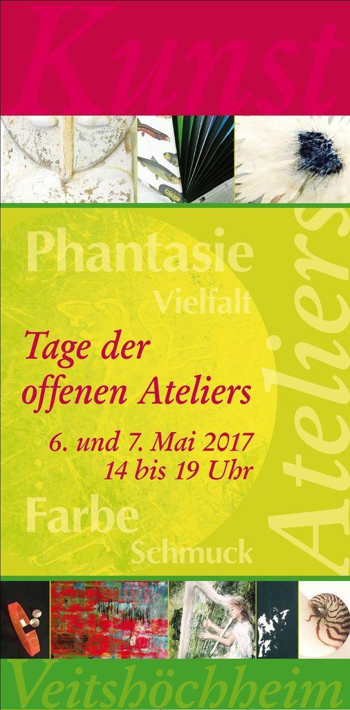 Wieder Tage der offenen Ateliers in Veitshöchheim am 6. und 7. Mai
