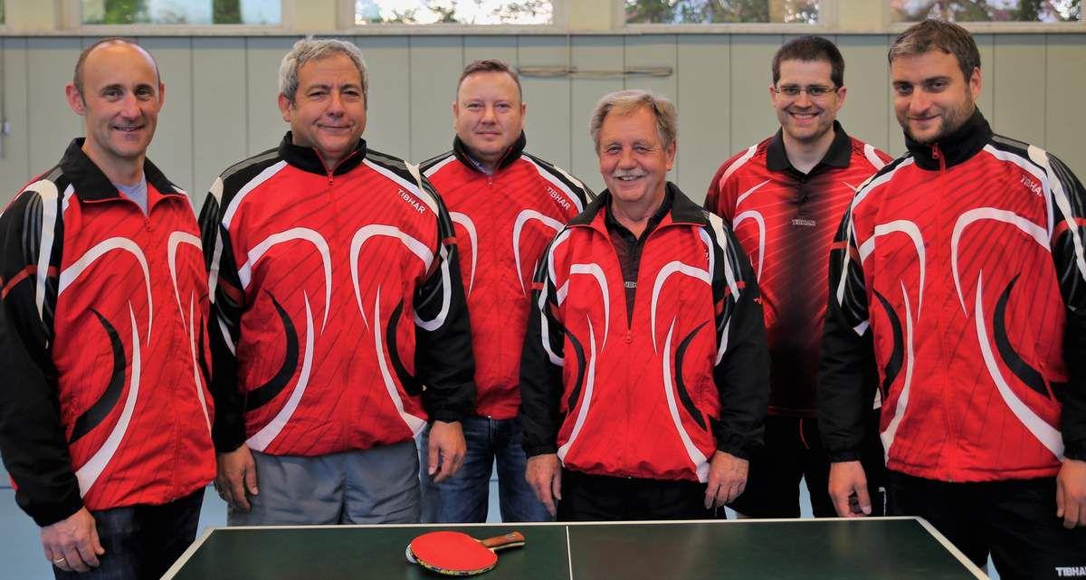 TG Veitshöchheim 2 ist Tischtennis-Meister der 1. Kreisliga Würzburg!