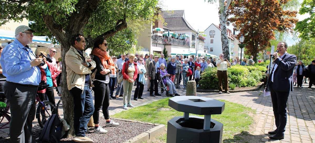 Über die große Resonanz freute sich denn auch Veitshöchheims Bürgermeister Jürgen Götz, der alle Gäste herzlich begrüßte.