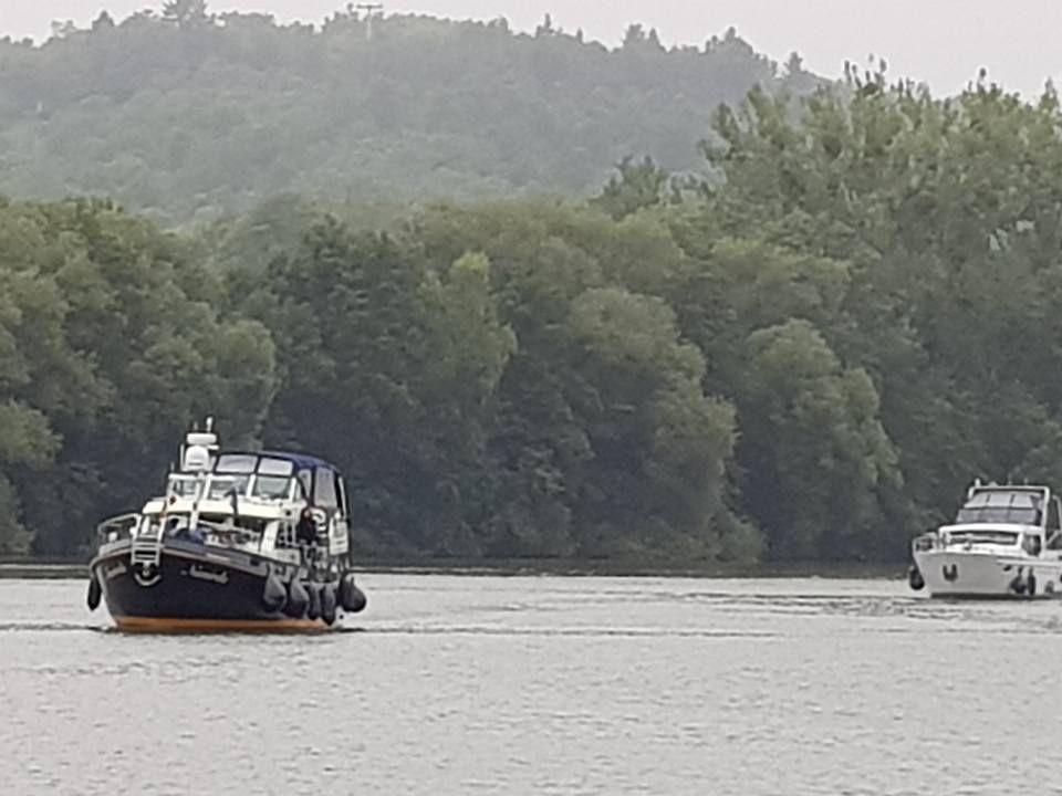 Am neuen Marina-Hafen in Veitshöchheim legten bereits die ersten Boote an
