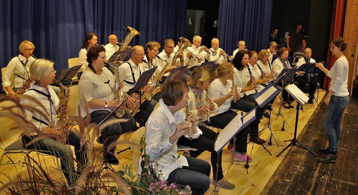 Der Musikverein tat sich da schon leichter.