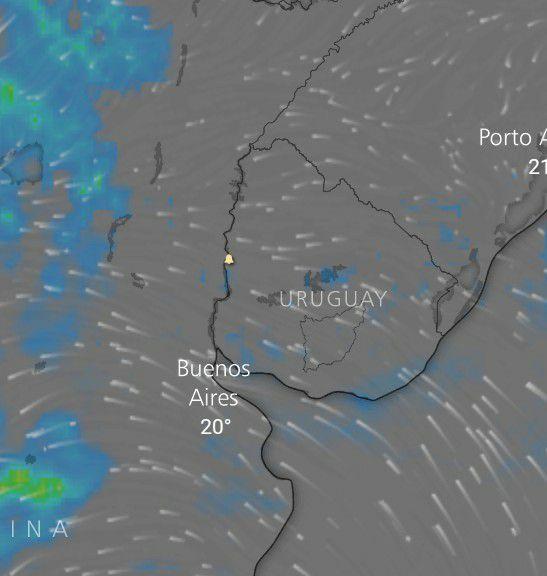 Comenzamos el Martes con cielos nubosos durante el día la nubosidad irá en aumento. Desde el litoral argentino se observa el desplazamiento de mal tiempo provocando lluvias y tormentas las cuales irán ingresando al pais al país.