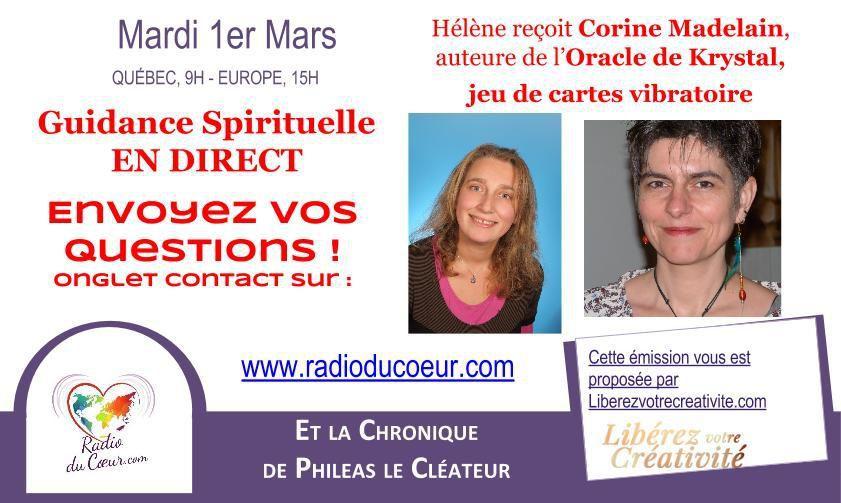 Oracle de Krystal - cartes vibratoires de la loi d'attraction