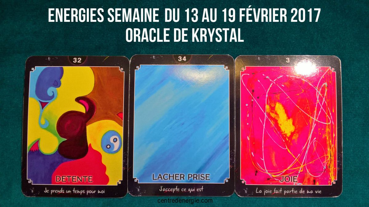 Cartes Oracle de Krystal
