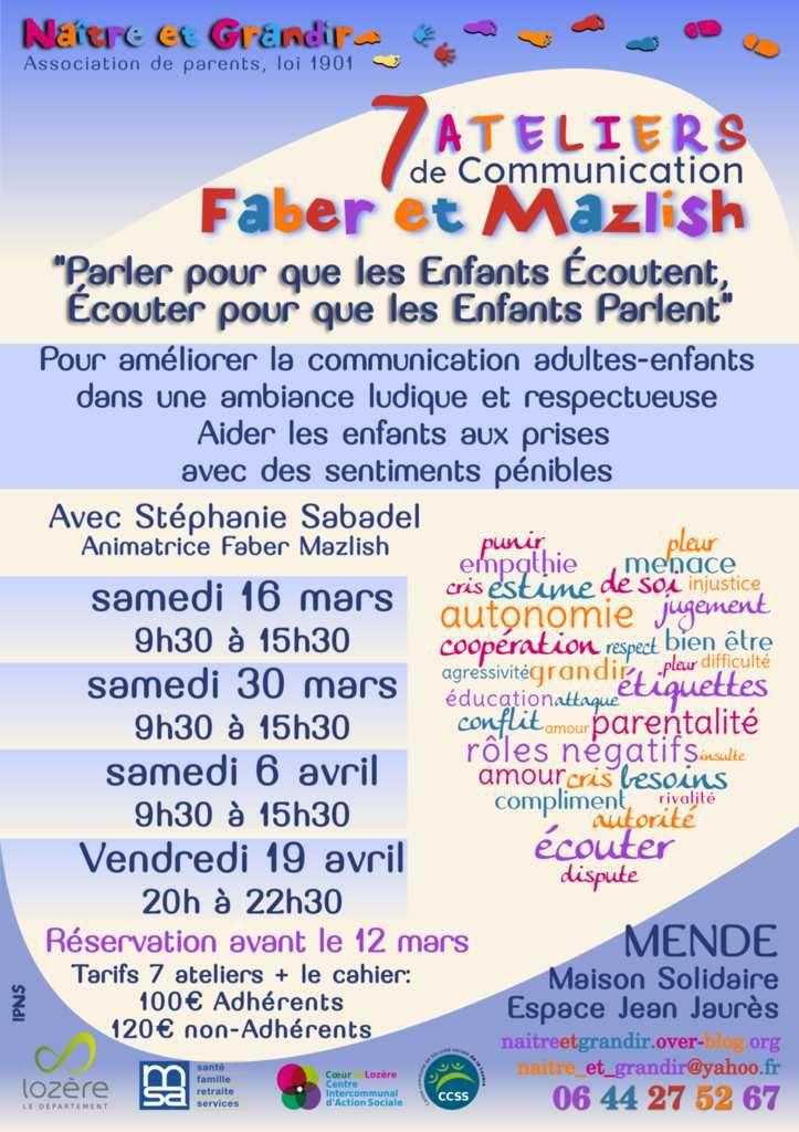 Améliorer la communication Adulte/enfant en mars à Mende