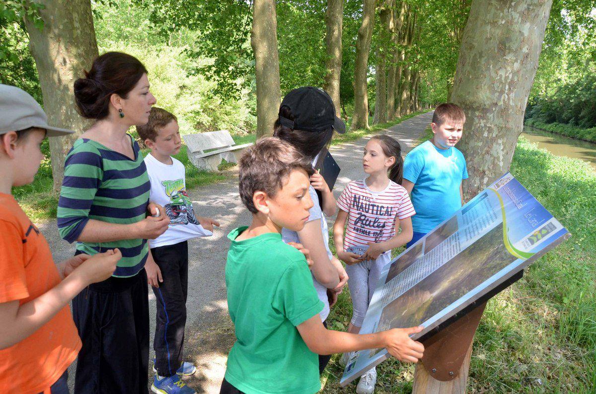 Une grande première s'est terminée mardi à la Maison de l'eau et de la nature.