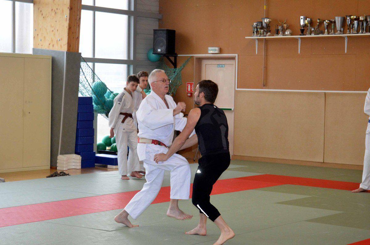 Un stage de self-défense de haut-niveau au Judo club pontévallois.