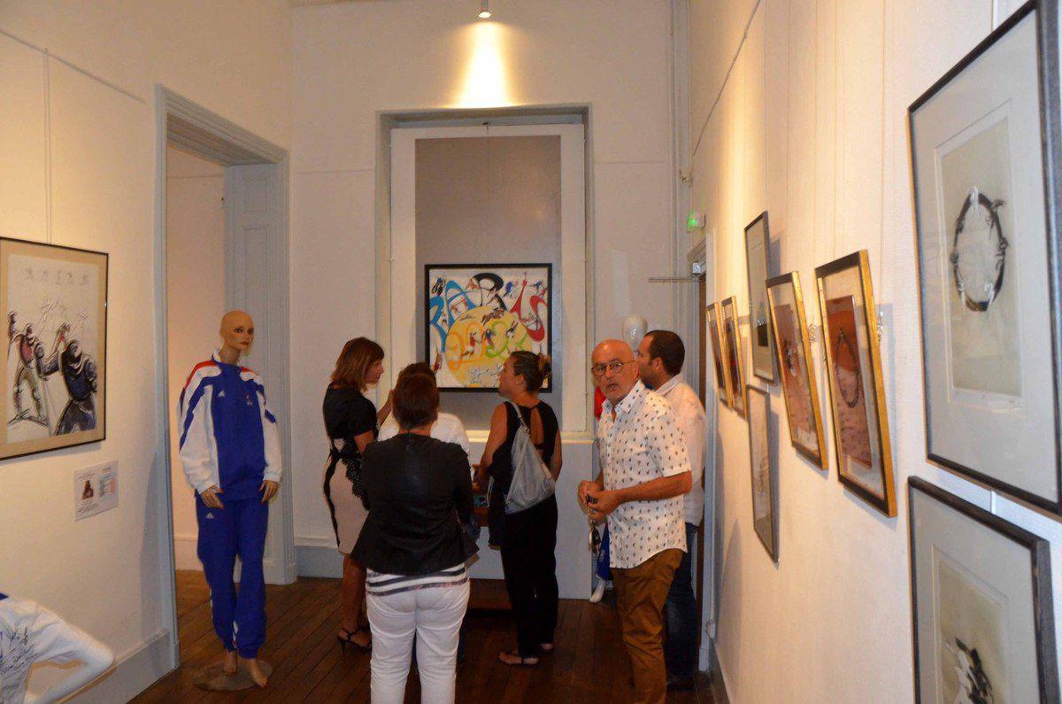Le mouvement sportif et les gestes sportifs s'exposent au Musée Antoine-Chintreuil.