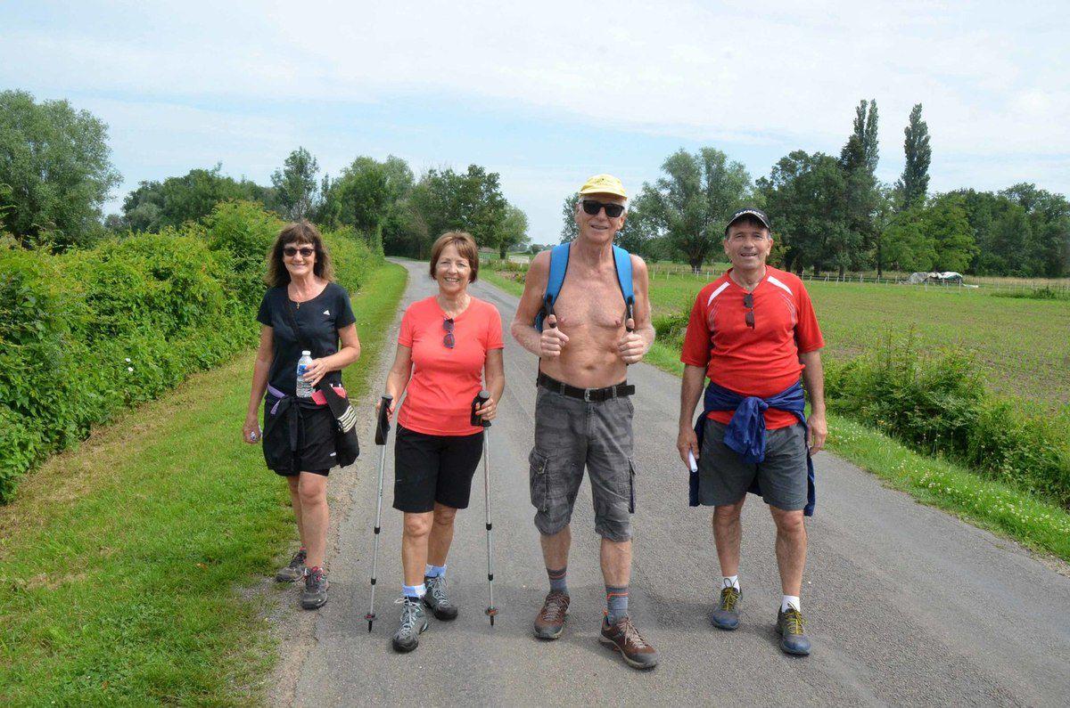 Les randonnées du comité des fêtes ont lieu dimanche.