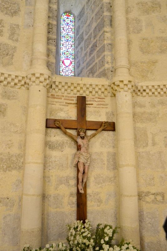 Restauration du Crucifix d'Artigues