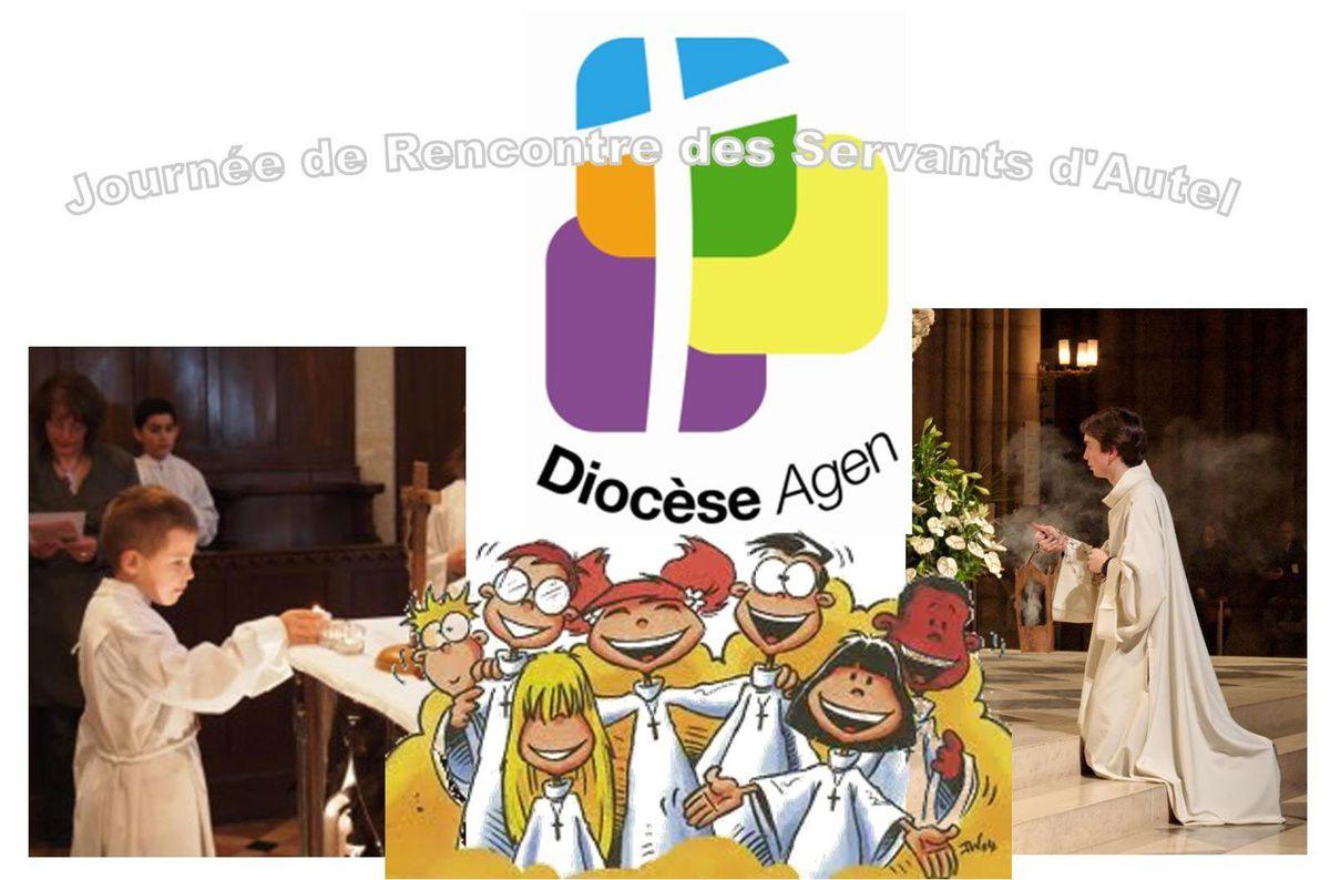 JOURNEE DE RENCONTRE ET DE FORMATION DES SERVANTS D'AUTEL DU DIOCESE D'AGEN