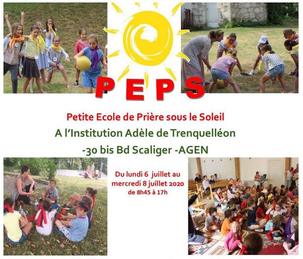 LA PETITE ÉCOLE DE PRIÈRE SOUS LE SOLEIL POUR LES ENFANTS DE 7 À 11 ANS